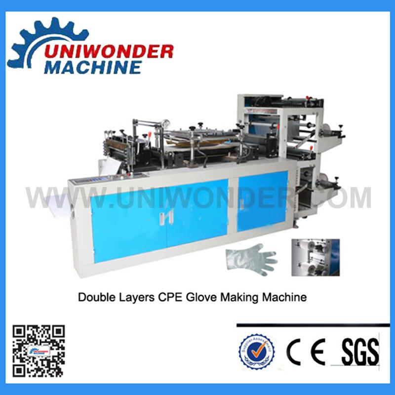 Disposable Plastic Gloves Machine