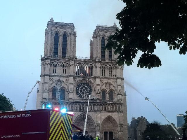 The Fire Of Notre Dame de Paris