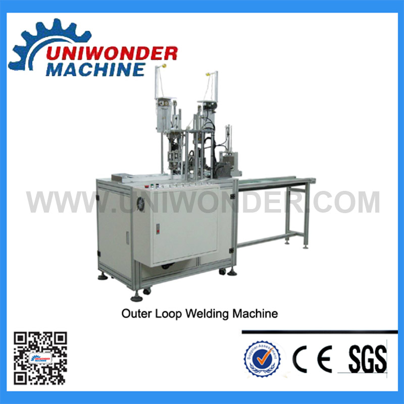 Automatic Mask Outer Ear-loop Welding Machine