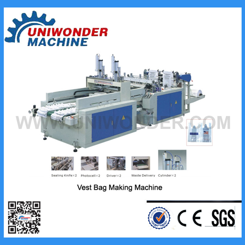 Automatic Double-line Vest Bag Making Machine