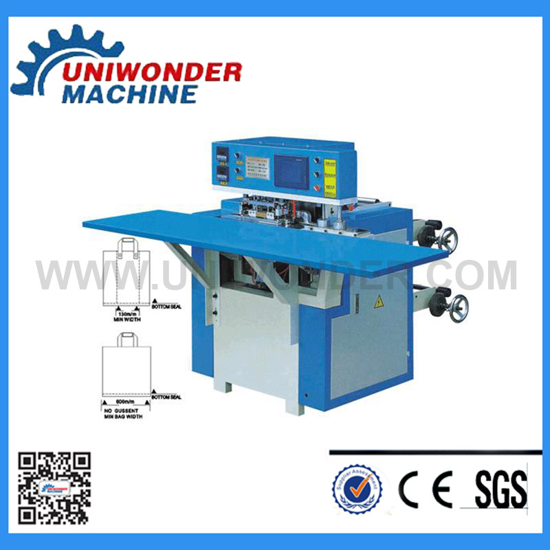 Automatic Handle Bag Making Machine