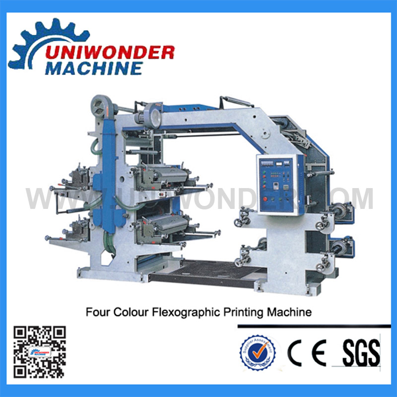 Fully Automatic  Flexographic Printing Machine (YT-6800)