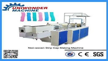 Full Automatic Non-woven Strip Cap Making Machine