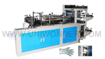What Are The Characteristics Of Disposable Plastic Glove Making Machine?