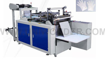 Composition Of Plastic Glove Making Machine